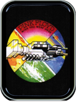 Pink Floyd - Wish You Were Here - Large Stash Tin Image