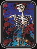GRATEFUL DEAD SKELETON MINI STASH TIN