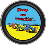 R. Crumb - Keep On Trucking Round Stash Tin Image