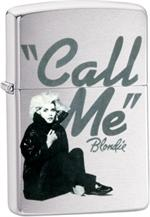 BLONDIE - CALL ME ZIPPO LIGHTER