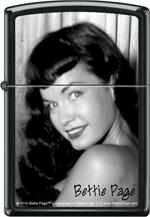 BETTIE PAGE BEAUTIFUL ZIPPO LIGHTER