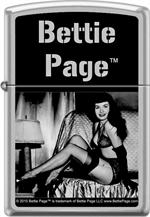 BETTIE PAGE PLAYFUL ZIPPO LIGHTER