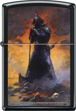 DEATH DEALER THREE by: FRANK FRAZETTA - ZIPPO