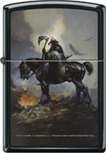 DEATH DEALER by: FRANK FRAZETTA - ZIPPO