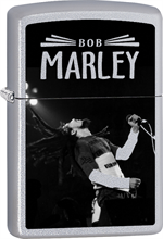Bob Marley Zippo Lighter - Sing Satin Chrome