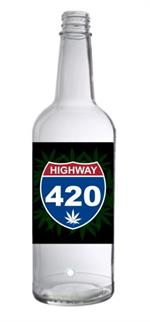 Hwy. 420 Incense Ashcatcher Bottle - 12