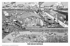 GRATEFUL DEAD - 101 DEAD SONGS POSTER - 36